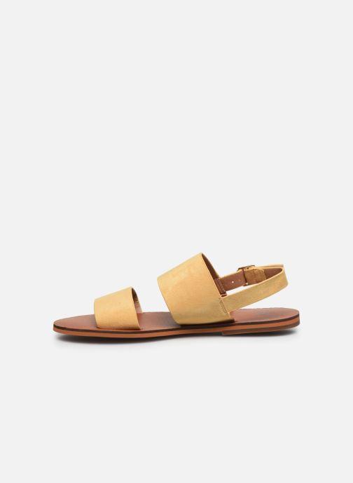 Sandali e scarpe aperte Vanessa Wu SD2127 Giallo immagine frontale