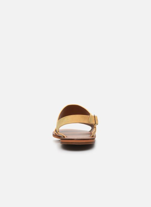 Sandali e scarpe aperte Vanessa Wu SD2127 Giallo immagine destra
