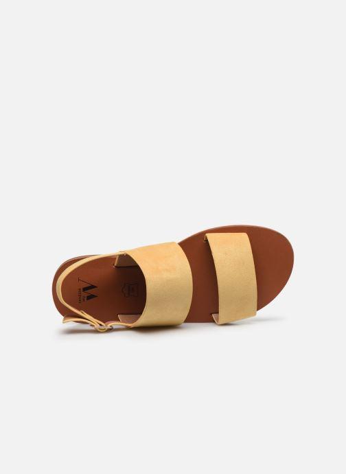 Sandali e scarpe aperte Vanessa Wu SD2127 Giallo immagine sinistra