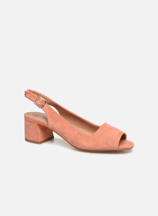 Zapatos de tacón Vanessa Wu SD2114 Naranja vista de detalle / par
