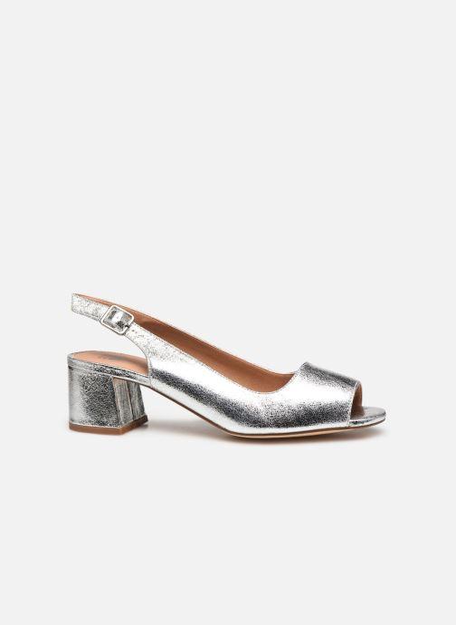 Zapatos de tacón Vanessa Wu SD2114 Plateado vistra trasera