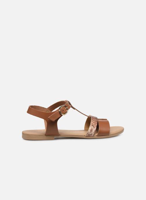 Sandales et nu-pieds Georgia Rose Diloupa Marron vue derrière