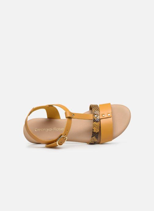 Sandali e scarpe aperte Georgia Rose Diloupa Giallo immagine sinistra