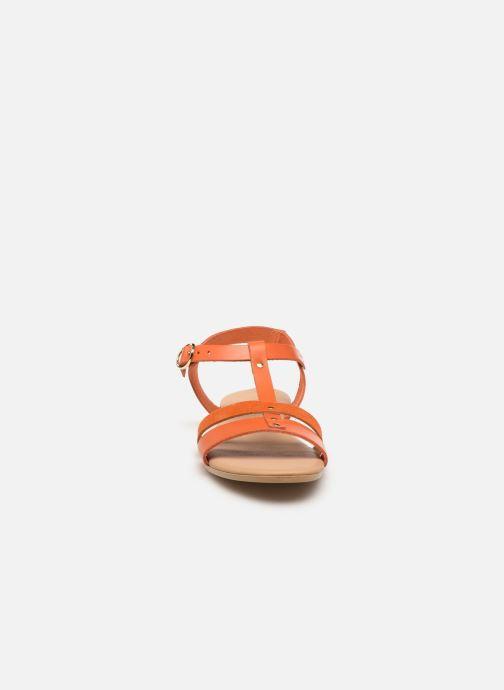 Sandales et nu-pieds Georgia Rose Diloupa Orange vue portées chaussures