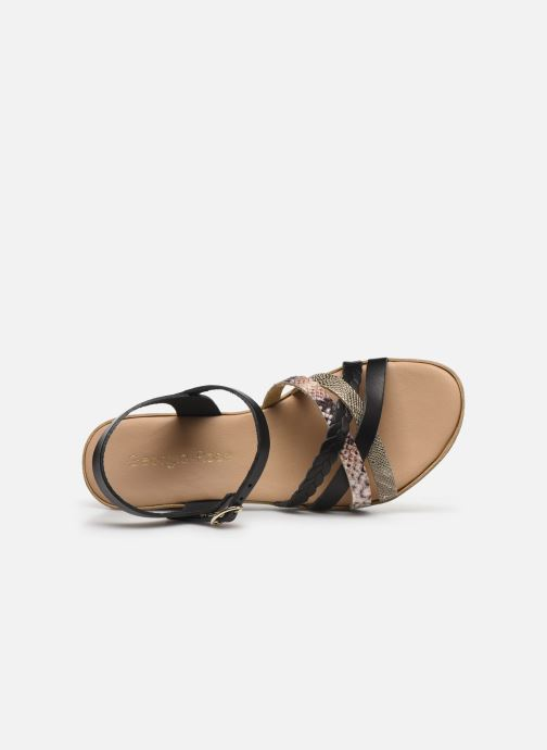 Sandalen Georgia Rose Dopila Zwart links