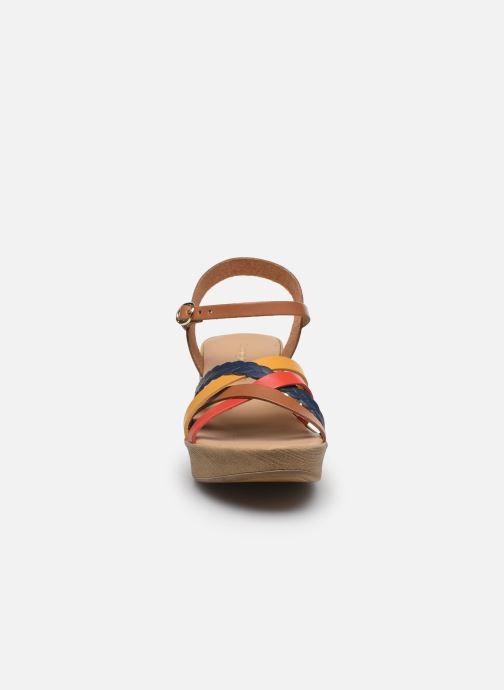 Sandales et nu-pieds Georgia Rose Dopila Multicolore vue portées chaussures