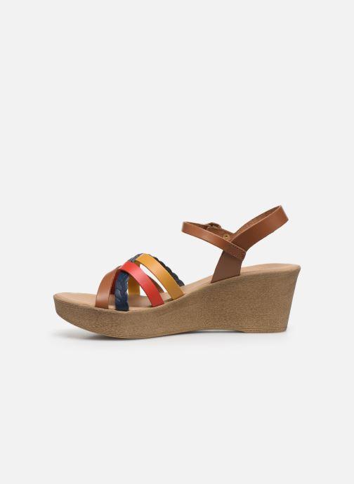 Sandales et nu-pieds Georgia Rose Dopila Multicolore vue face