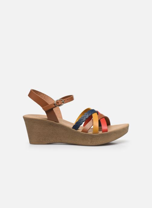 Sandales et nu-pieds Georgia Rose Dopila Multicolore vue derrière
