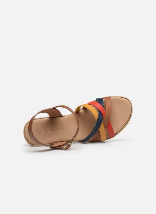Sandales et nu-pieds Georgia Rose Dopila Multicolore vue gauche