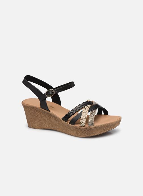 Sandales et nu-pieds Georgia Rose Dopila Noir vue détail/paire