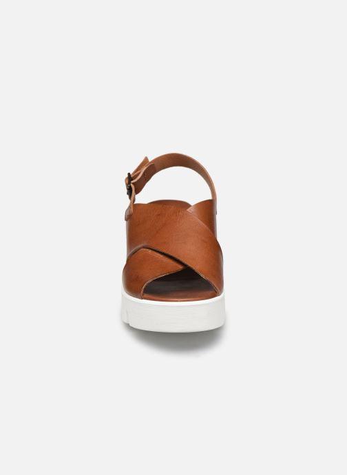 Sandales et nu-pieds Sweet Lemon L.16.SPETO Marron vue portées chaussures