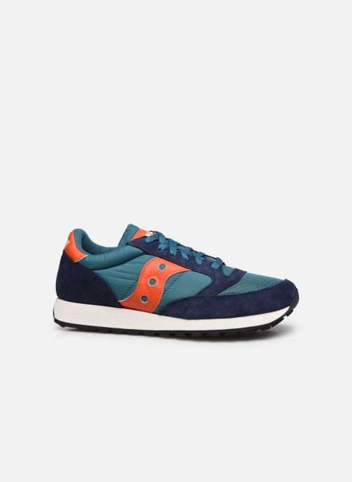 Sneaker Saucony Jazz Vintage blau ansicht von hinten
