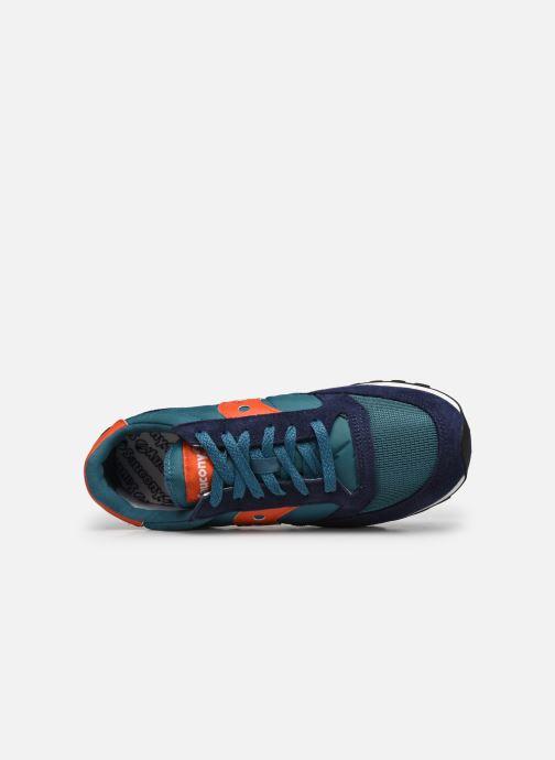 Sneaker Saucony Jazz Vintage blau ansicht von links