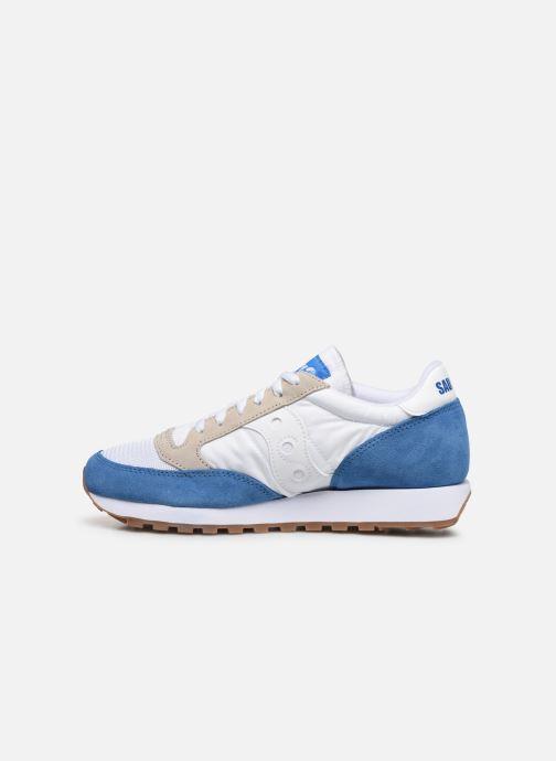 Sneaker Saucony Jazz Vintage blau ansicht von vorne