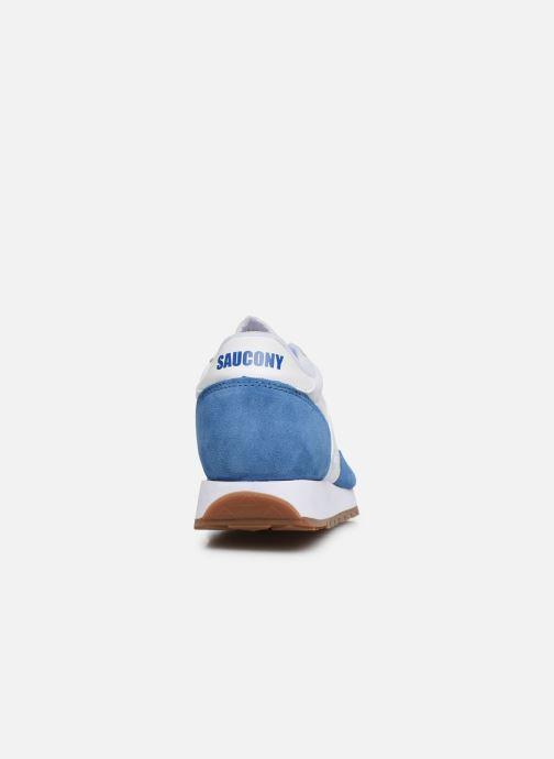 Baskets Saucony Jazz Vintage Bleu vue droite