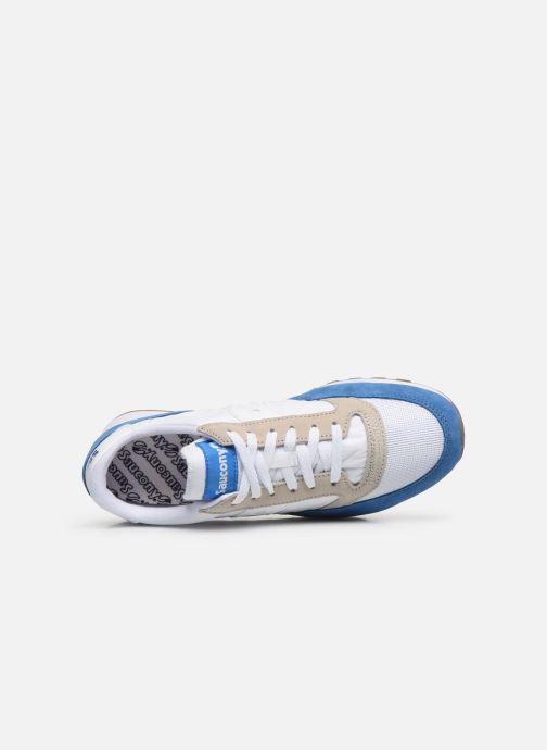 Baskets Saucony Jazz Vintage Bleu vue gauche