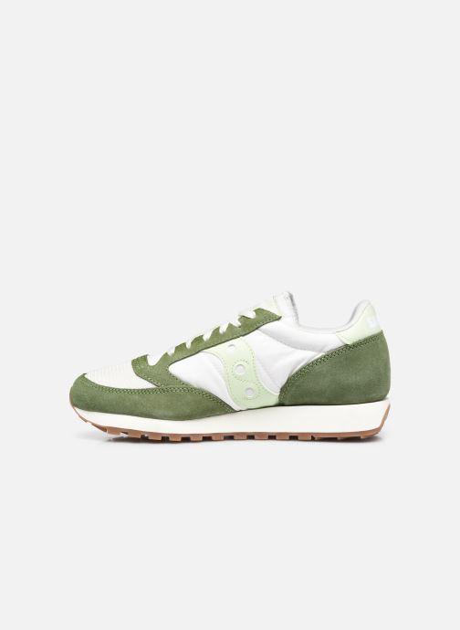 Sneakers Saucony Jazz Vintage Verde immagine frontale