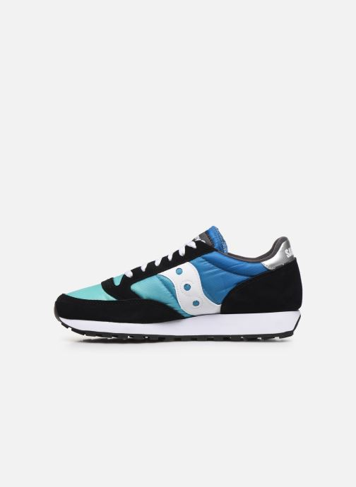 Sneakers Saucony Jazz Fade Azzurro immagine frontale