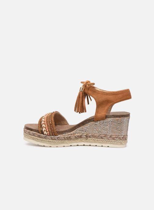 Sandales et nu-pieds Refresh 64086 Marron vue face
