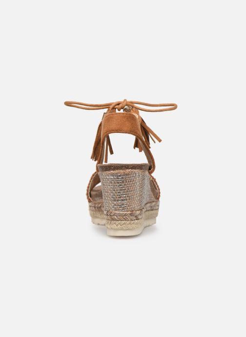 Sandales et nu-pieds Refresh 64086 Marron vue droite