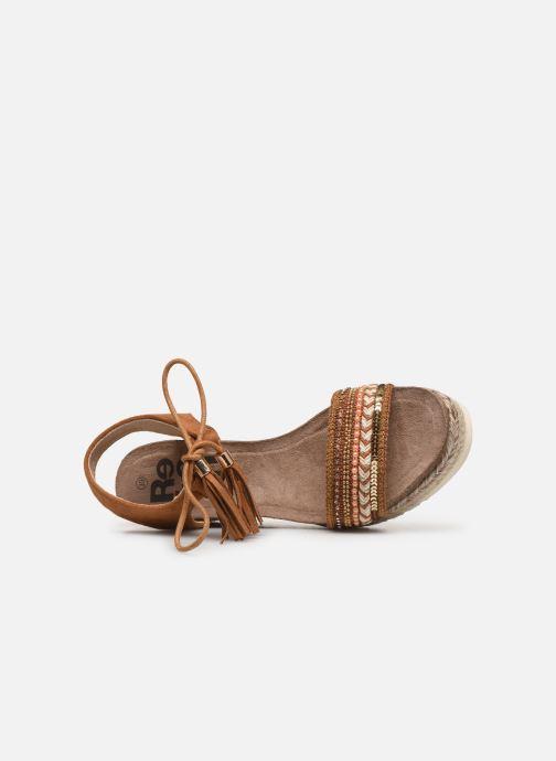Sandales et nu-pieds Refresh 64086 Marron vue gauche