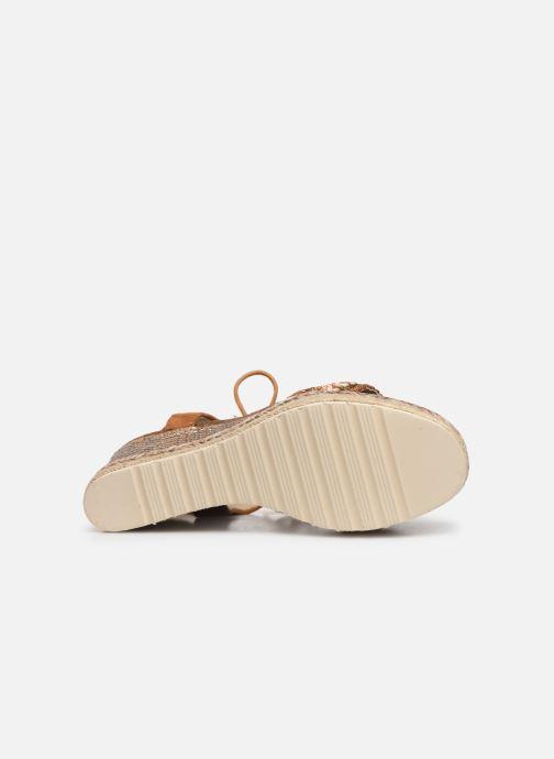 Sandales et nu-pieds Refresh 64086 Marron vue haut