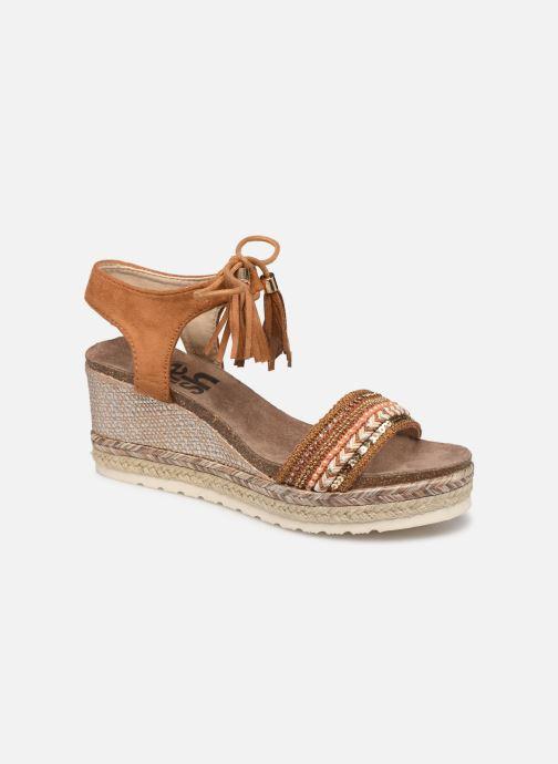 Sandales et nu-pieds Refresh 64086 Marron vue détail/paire