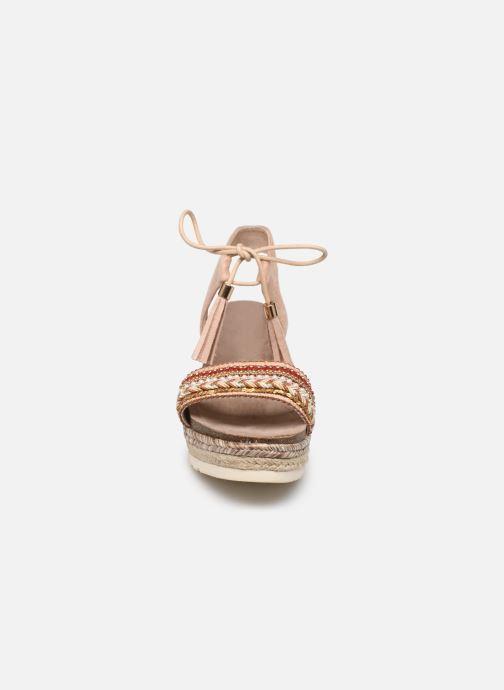 Sandales et nu-pieds Refresh 64086 Beige vue portées chaussures