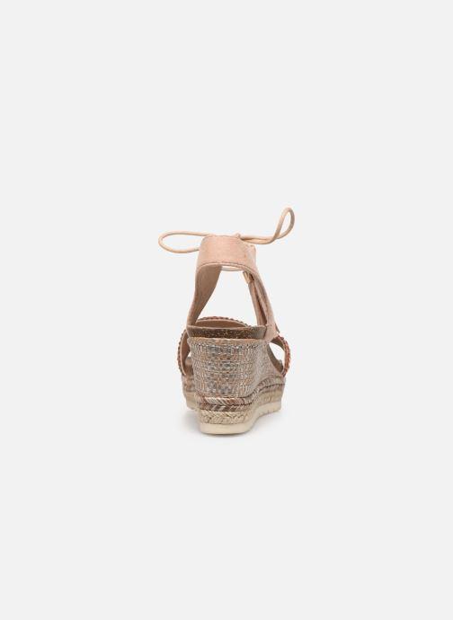 Sandales et nu-pieds Refresh 64086 Beige vue droite