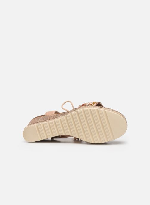 Sandales et nu-pieds Refresh 64086 Beige vue haut