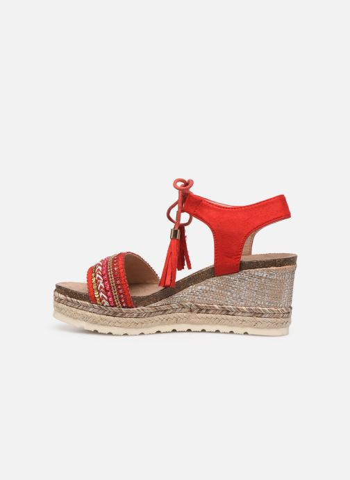 Sandals Refresh 64086 Red front view