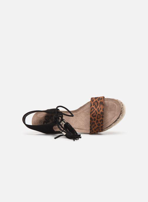Sandales et nu-pieds Refresh 69698 Marron vue gauche