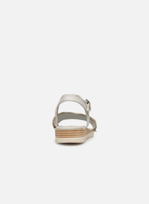 Sandales et nu-pieds Refresh 69748 Blanc vue droite