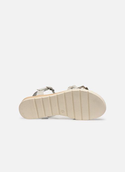 Sandales et nu-pieds Refresh 69748 Blanc vue haut