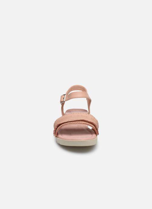 Sandales et nu-pieds Refresh 69748 Beige vue portées chaussures