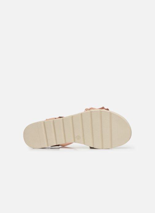 Sandales et nu-pieds Refresh 69748 Beige vue haut