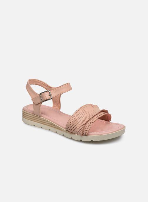 Sandales et nu-pieds Refresh 69748 Beige vue détail/paire