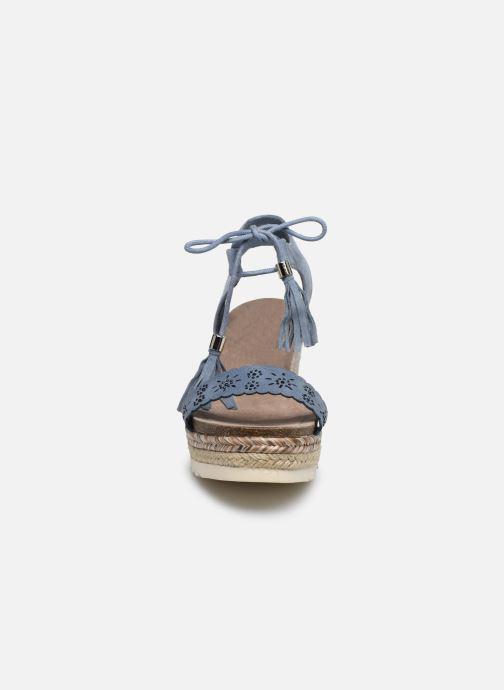 Espadrilles Refresh 69827 Bleu vue portées chaussures