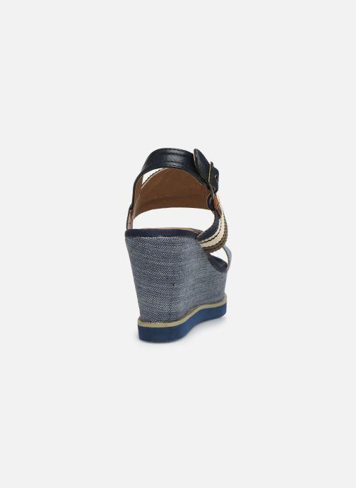 Sandales et nu-pieds Refresh 69909 Bleu vue droite