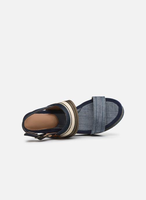 Sandales et nu-pieds Refresh 69909 Bleu vue gauche