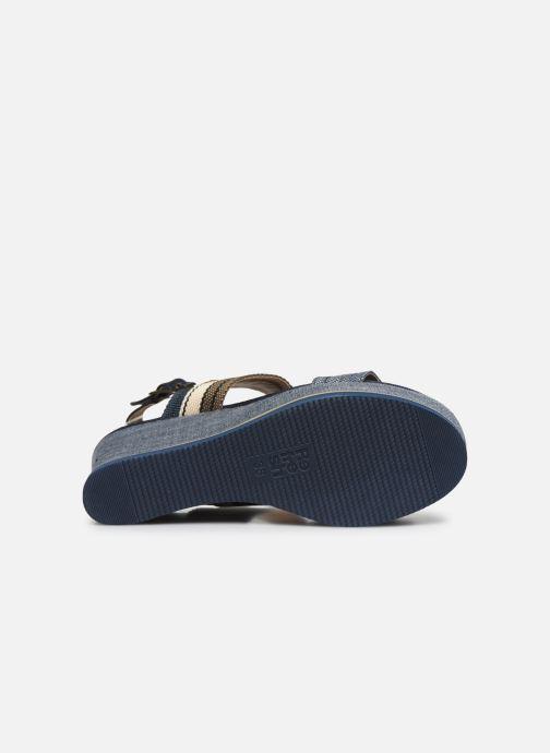 Sandales et nu-pieds Refresh 69909 Bleu vue haut