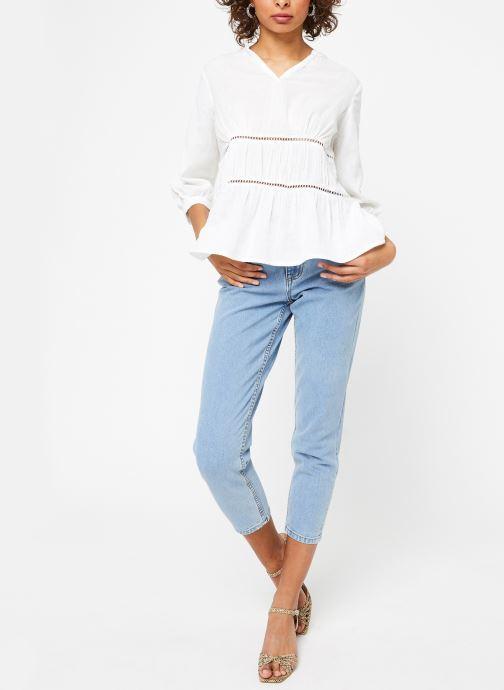 Vêtements Vila Tops Vimadelina Blanc vue bas / vue portée sac