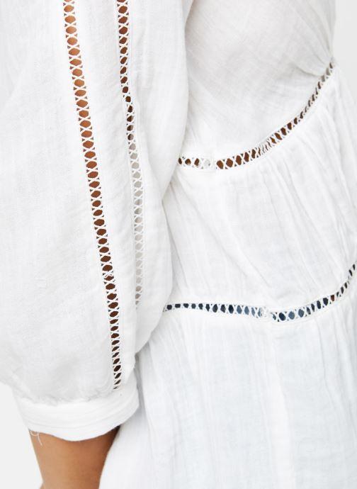 Vêtements Vila Tops Vimadelina Blanc vue face