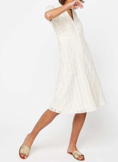 Vêtements Vila Long Dresses Vicarline Beige vue bas / vue portée sac