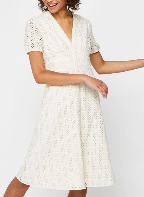 Vêtements Vila Long Dresses Vicarline Beige vue détail/paire