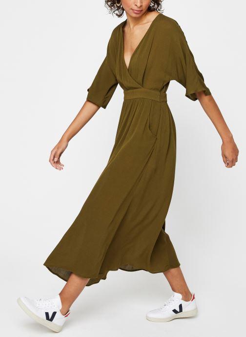 Vêtements Vila Long Dresses Vimetan Vert vue bas / vue portée sac