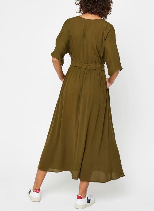 Vêtements Vila Long Dresses Vimetan Vert vue portées chaussures