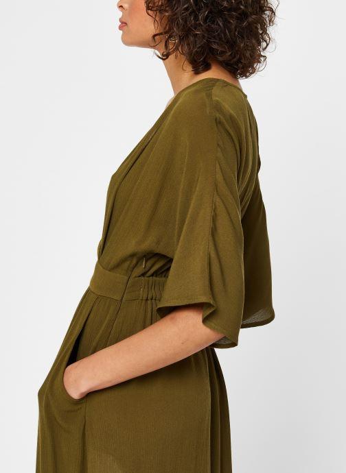Vêtements Vila Long Dresses Vimetan Vert vue face