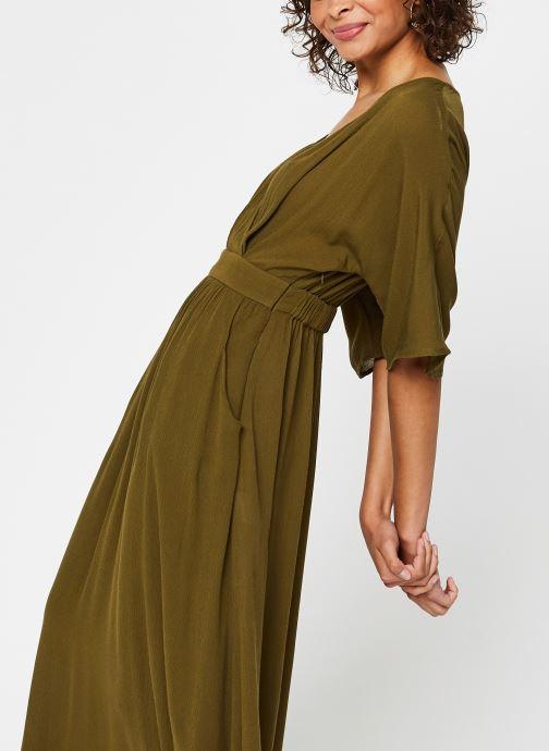 Vêtements Vila Long Dresses Vimetan Vert vue droite