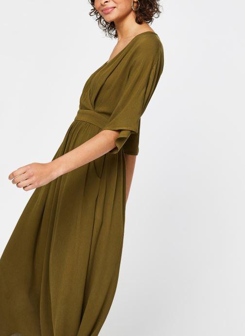 Vêtements Vila Long Dresses Vimetan Vert vue détail/paire